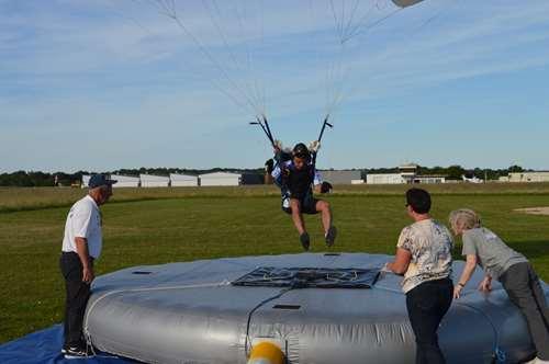 Précision d'atterrissage Juin 2019 Parachutisme Laval