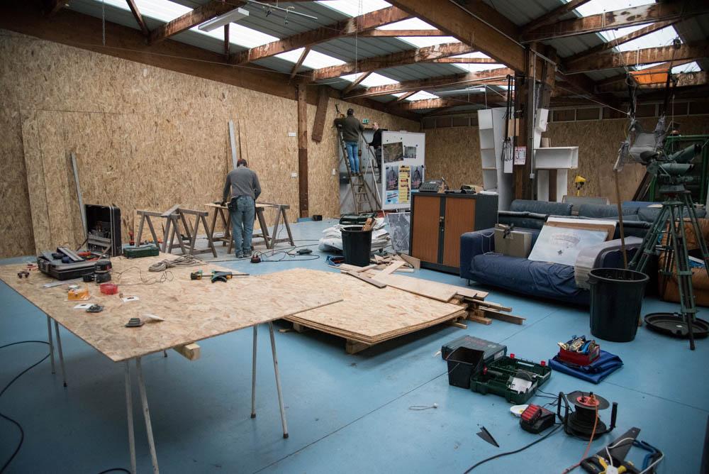 Travaux de rénovations de l'école de Parachutisme Laval